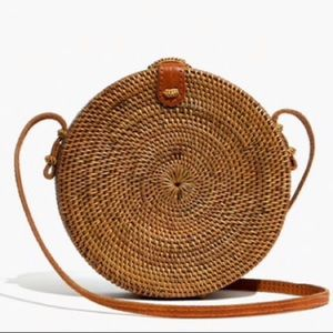 Madewell - Folk Fortune Bali Rattan Roundie bag